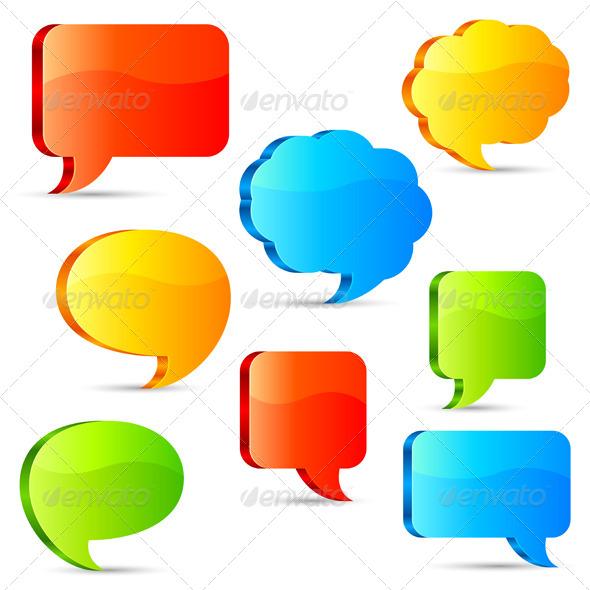 Talk Bubbles - Communications Technology