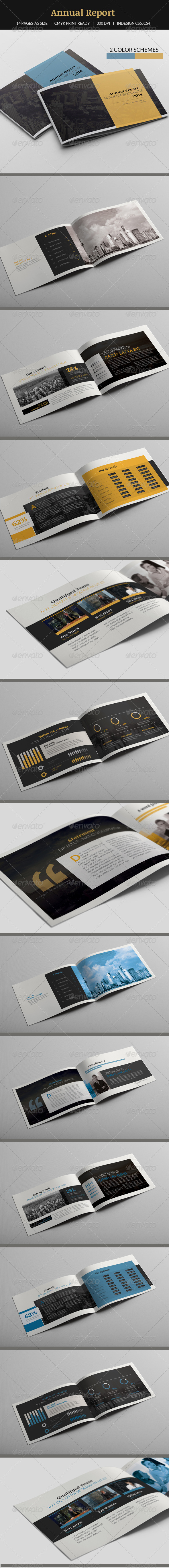 Annual Report A5 - Informational Brochures