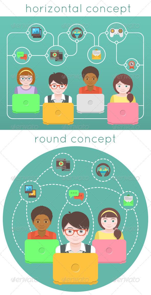 Kids Online - Web Technology