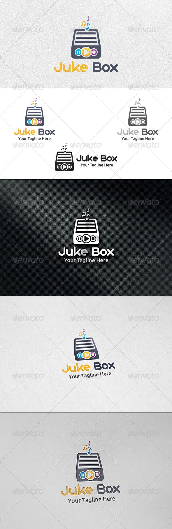 Juke Box - Logo Template - Symbols Logo Templates