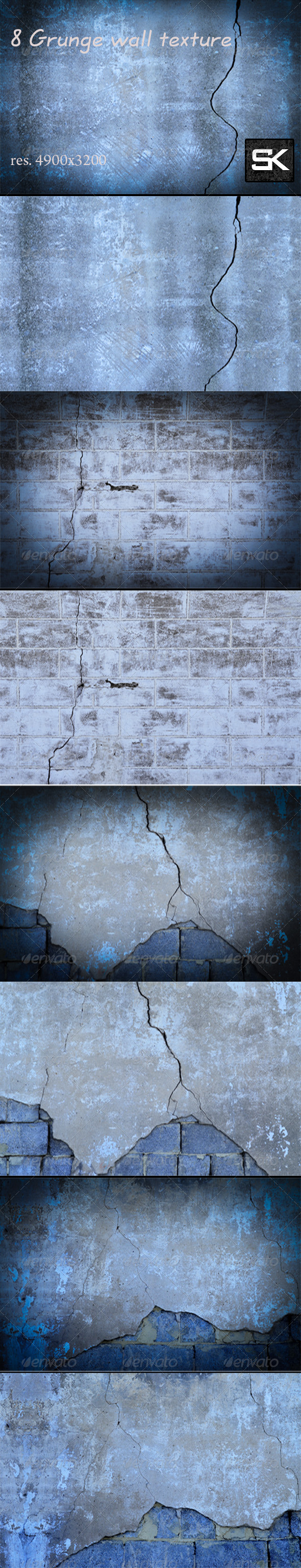 Grunge wall texture - Industrial / Grunge Textures