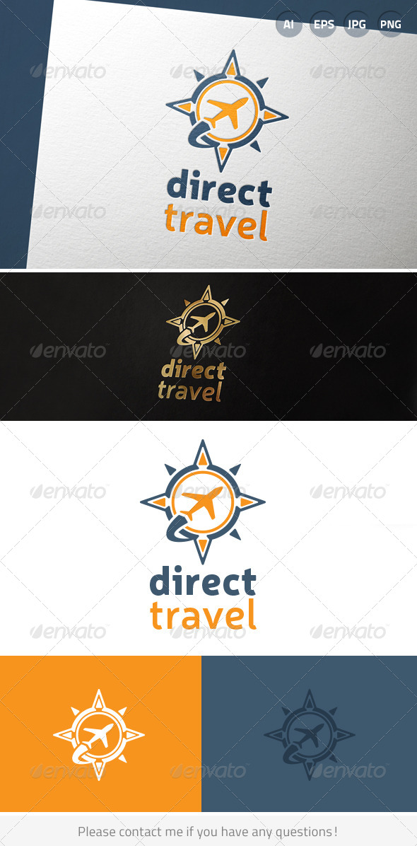 Air Travel Flight Logo - Symbols Logo Templates