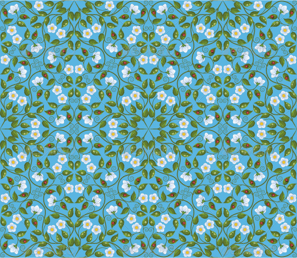 Abstract Seamless Floral Pattern - Patterns Decorative