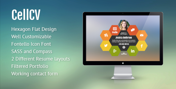 CellCV – Personal Portfolio & Resume Site
