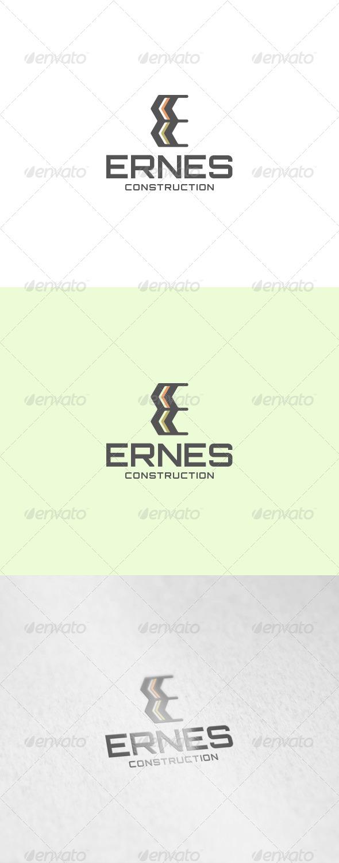 Ernes Logo - Letters Logo Templates
