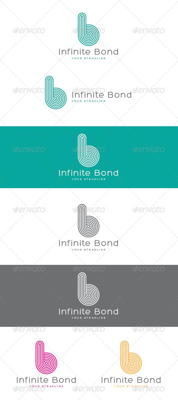 Infinite Bond Letter B Logo - Letters Logo Templates