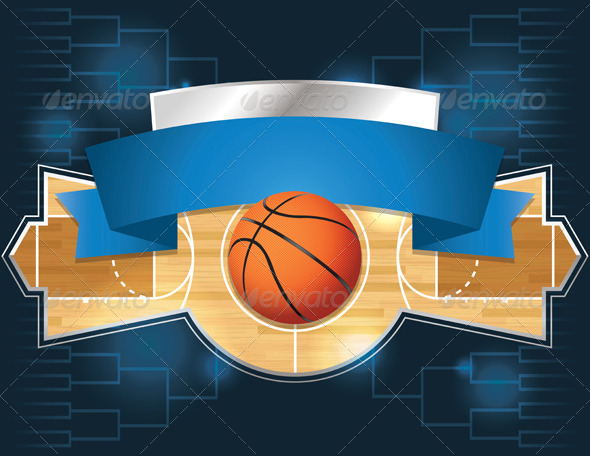 Basketball Tournament Design - Sports/Activity Conceptual