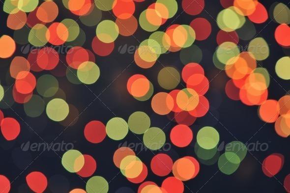 Defocused light - Stock Photo - Images