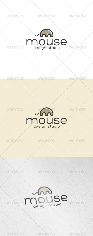 Mouse Logo - Letters Logo Templates