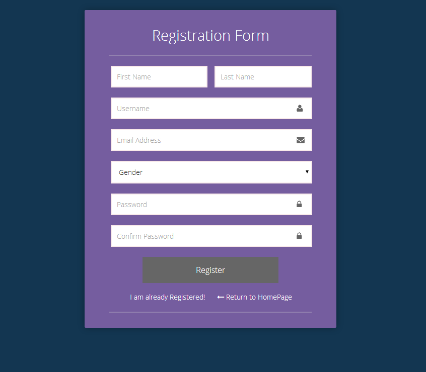 Depicto - Login & Registration Form Pack by sniperatic | CodeCanyon