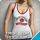 Ladies Tank Top Mock-up - GraphicRiver Item for Sale
