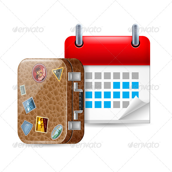 Vacation Icon - Miscellaneous Vectors