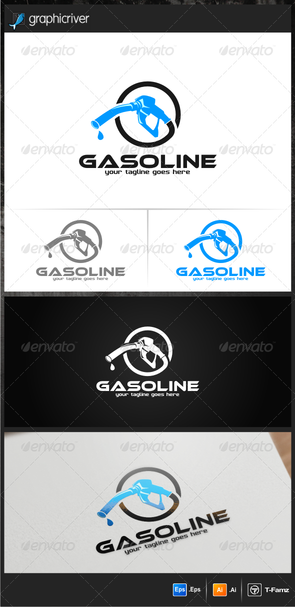 Gasoline Logo Templates - Objects Logo Templates