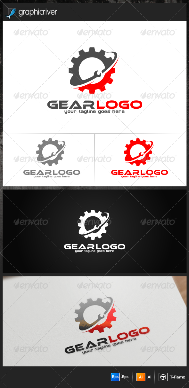 Auto Gear Logo Templates - Objects Logo Templates