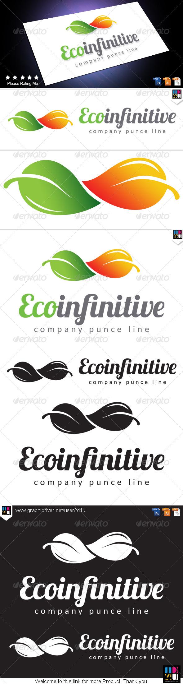 Eco Infinitive - Nature Logo Templates
