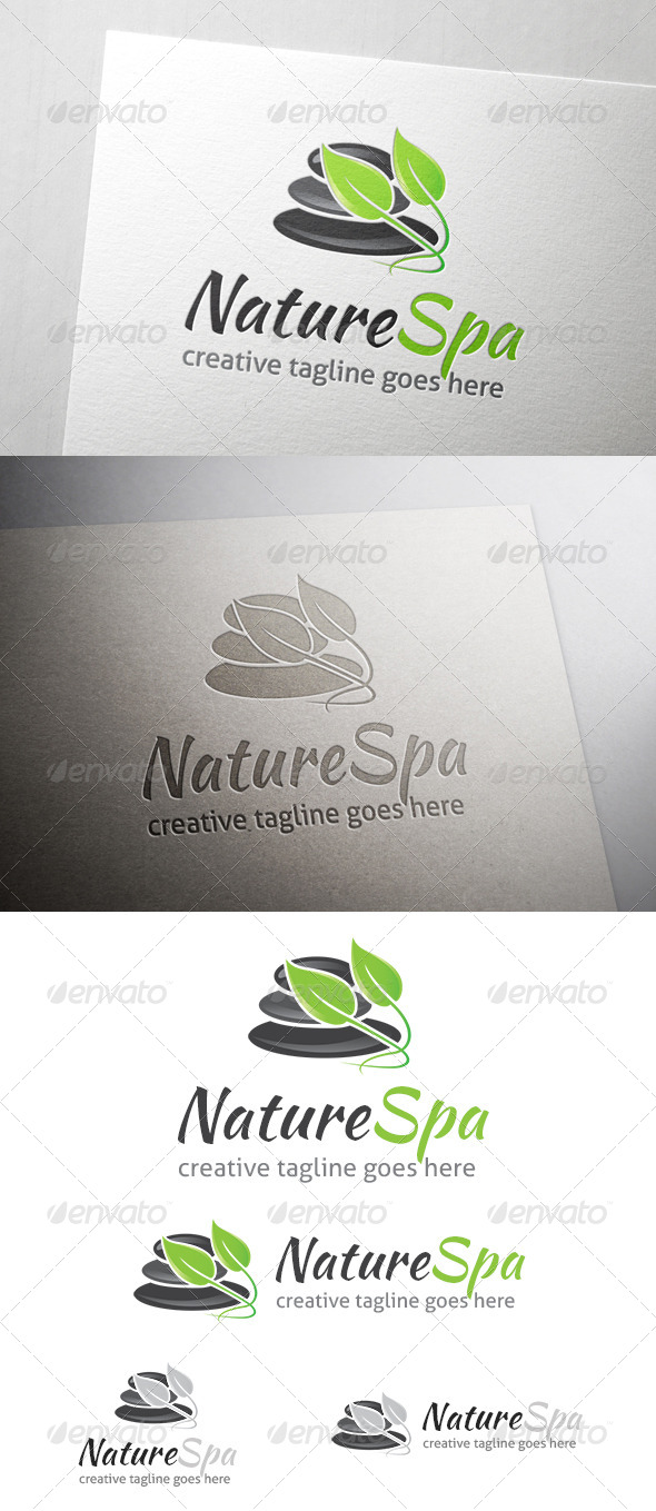 Nature Spa Logo - Symbols Logo Templates