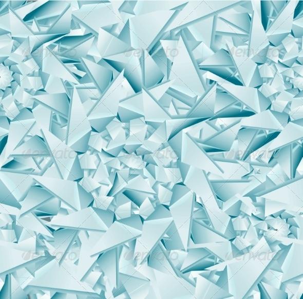 Seamless Ice Pattern - Patterns Decorative