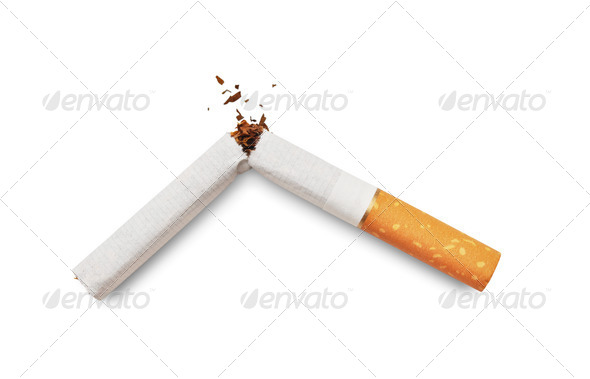Quit smoking - Stock Photo - Images
