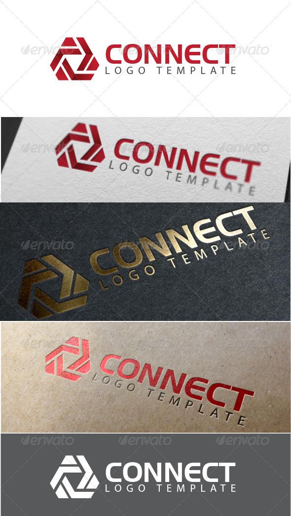 Connect Logo Template - Logo Templates
