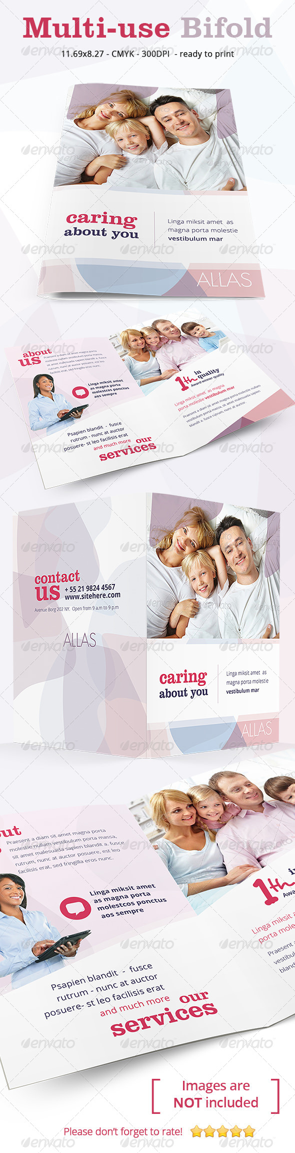 Multiuse Clean Bifold - Corporate Brochures