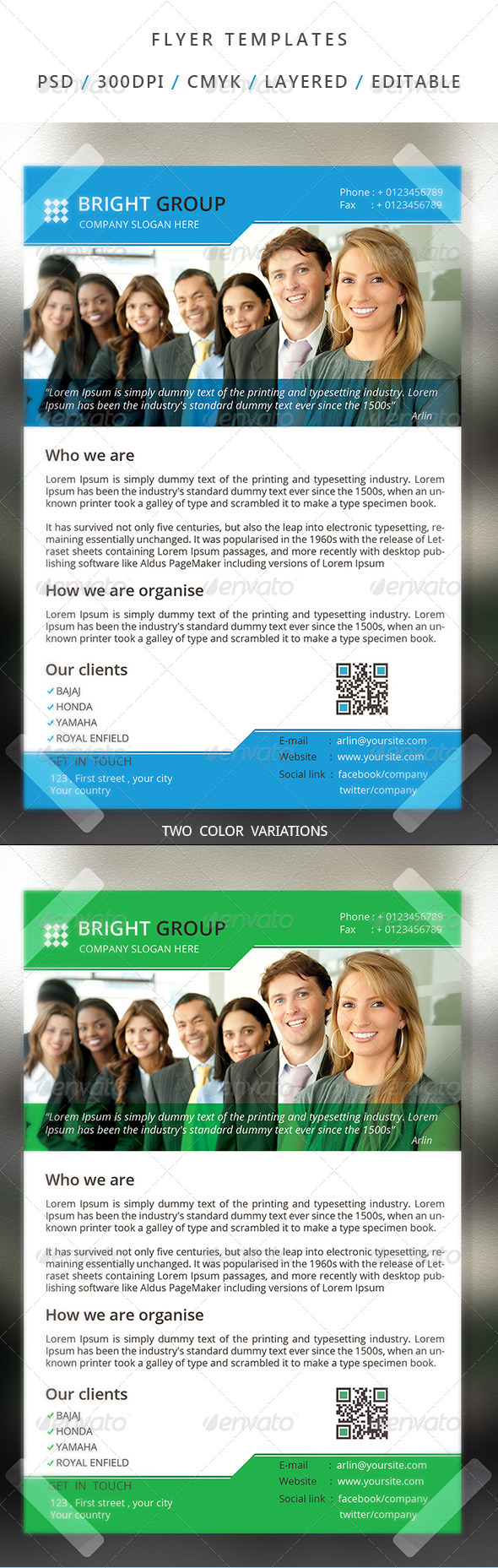 Corporate Flyer Template - 17 - Corporate Flyers
