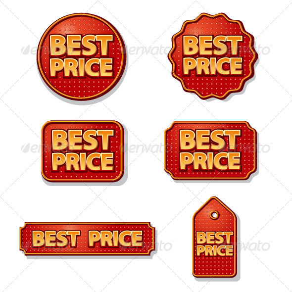 Best Price Labels - Icons
