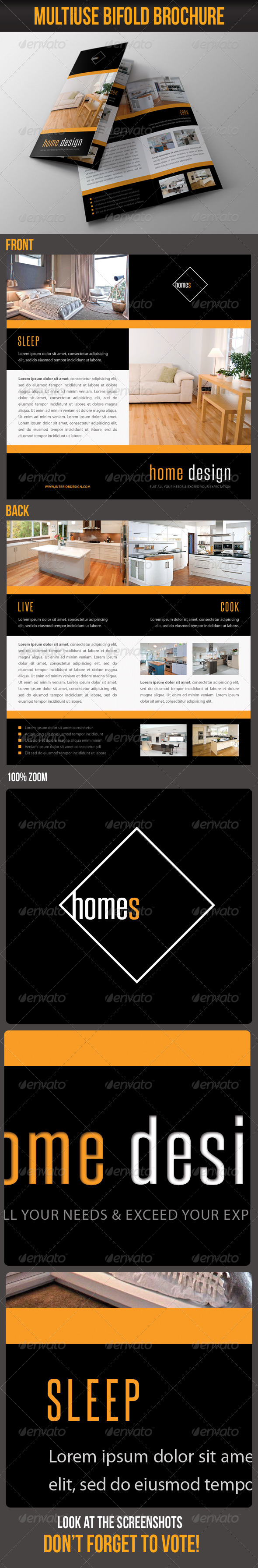 Multiuse Bifold Brochure 55 - Portfolio Brochures