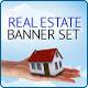 Real Estate Banner Set - GraphicRiver Item for Sale