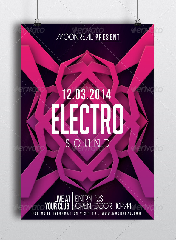 X36 - FLYER TEMPLATE - Clubs & Parties Events