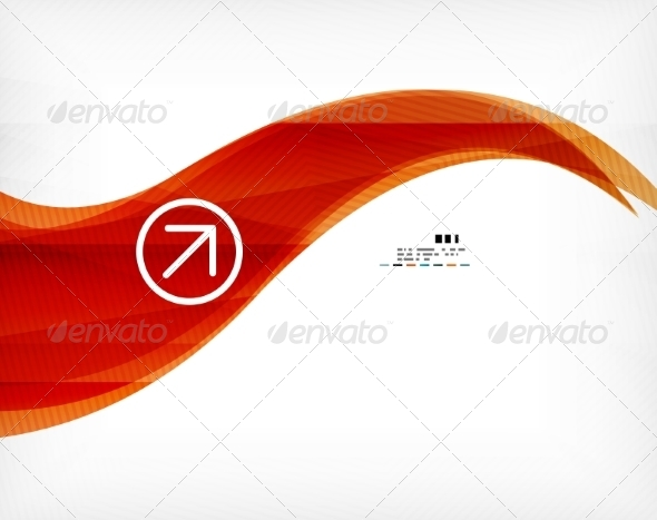 Abstract Wave Poster - Abstract Conceptual