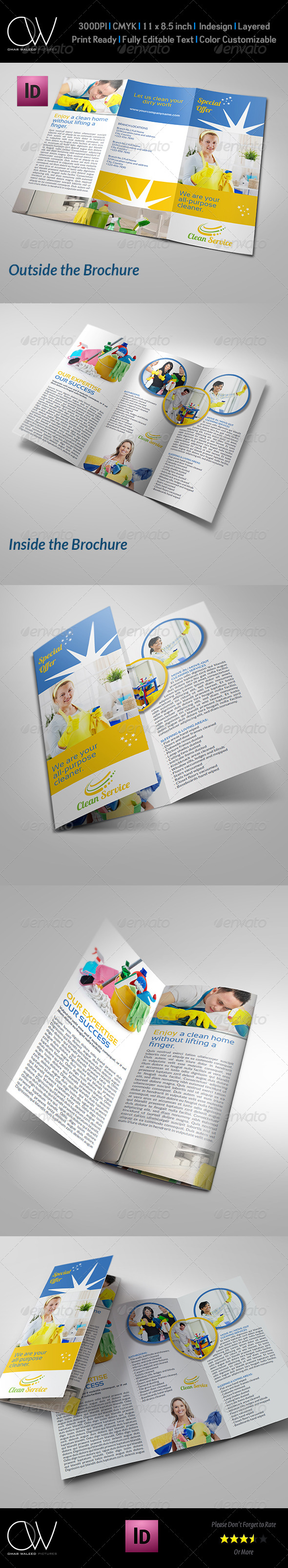 Cleaning Services Company Brochure Tri-Fo Vol.2 - Corporate Brochures