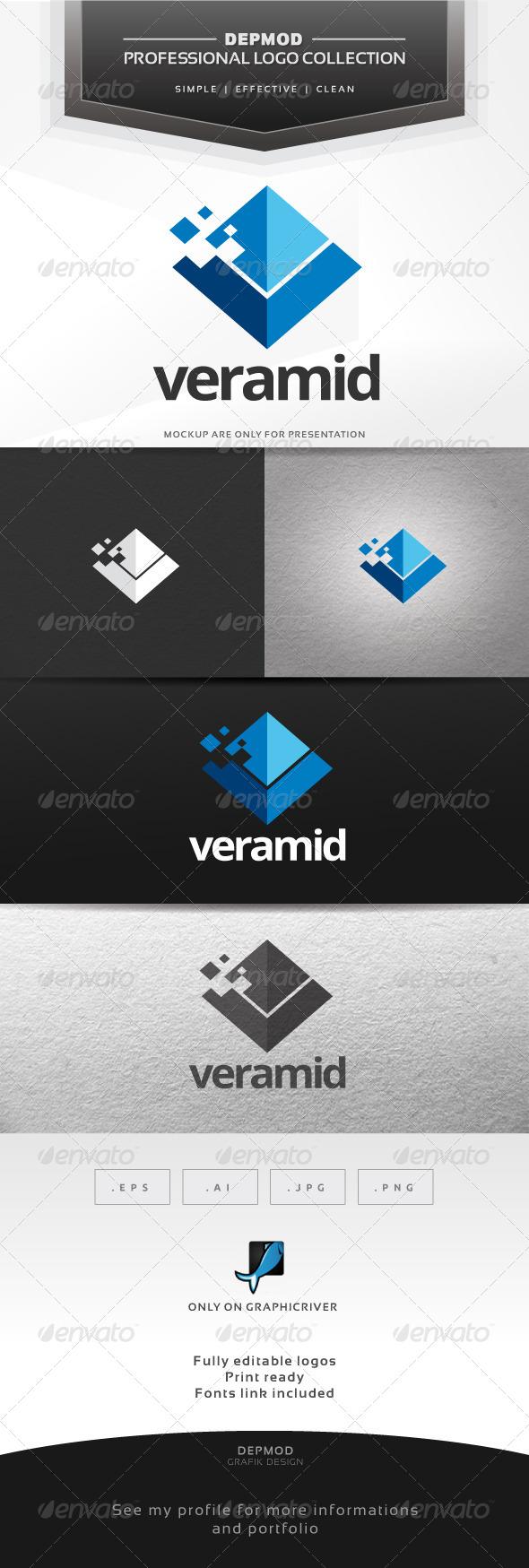 Veramid Logo - Symbols Logo Templates