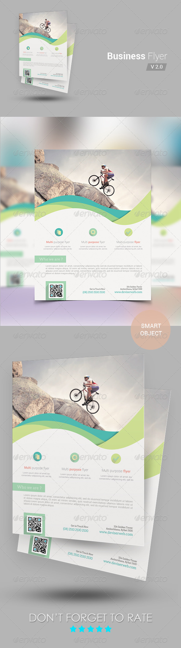 Corporate Business Flyer Template v2 - Corporate Flyers