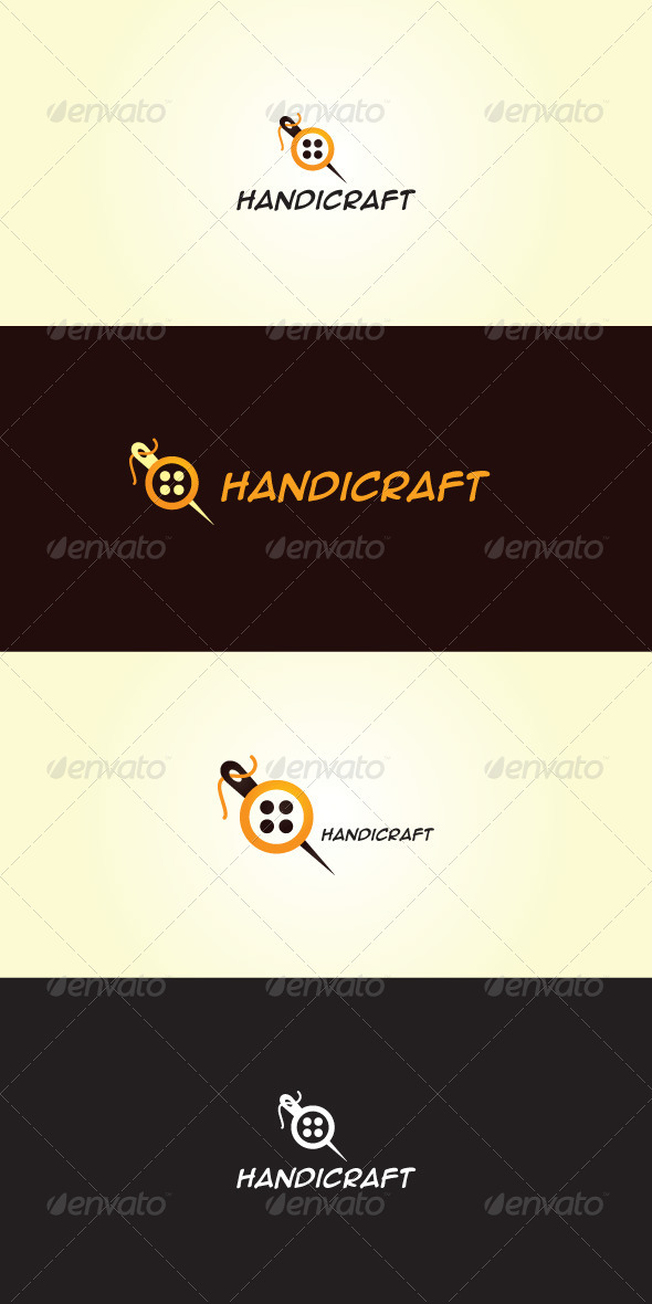 Handicraft Stock Logo Template - Objects Logo Templates