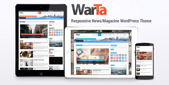 Warta - News/Magazine WordPress Theme - Blog / Magazine WordPress