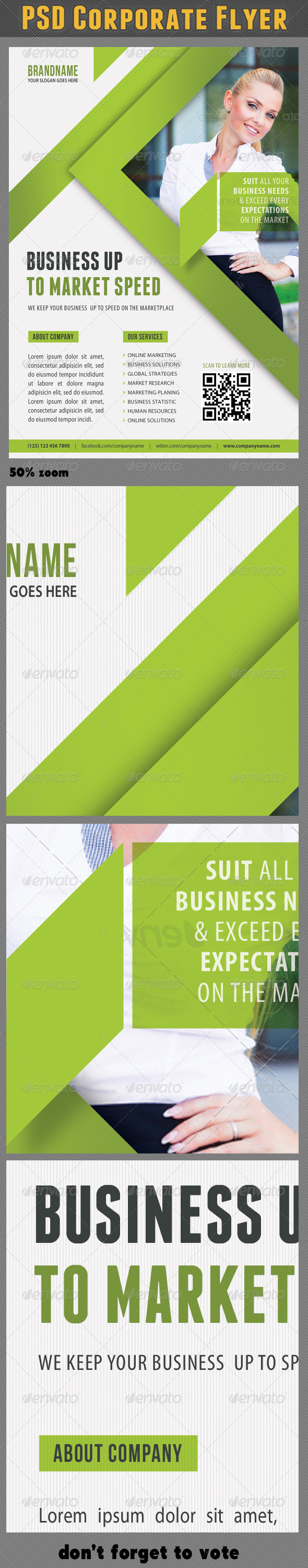 Corporate Product Flyer 66 - Corporate Flyers