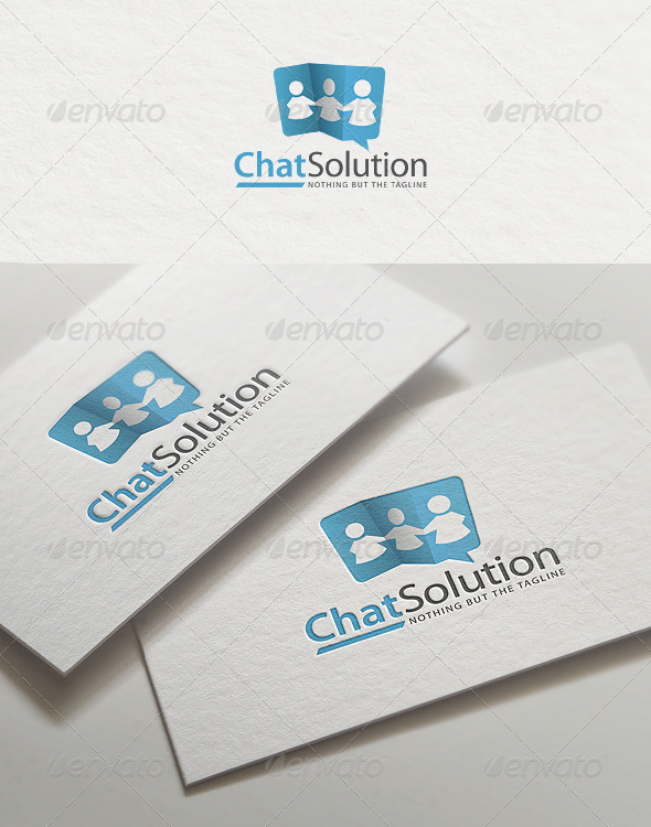 Chat Solution | Logo Template - Symbols Logo Templates