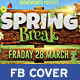 Spring Break / Summer Party Facebook Cover - GraphicRiver Item for Sale