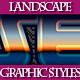 Set of Unique Landscape Graphic Styles for Design - GraphicRiver Item for Sale
