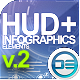 21 HUD & Infographics Elements - VideoHive Item for Sale