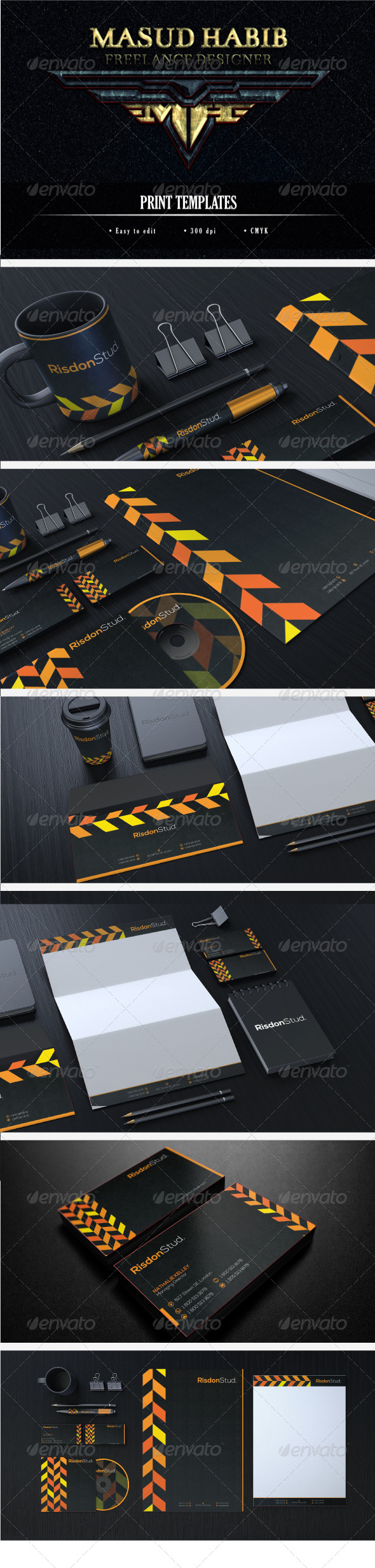Creative Corporate Identity 17 - Stationery Print Templates