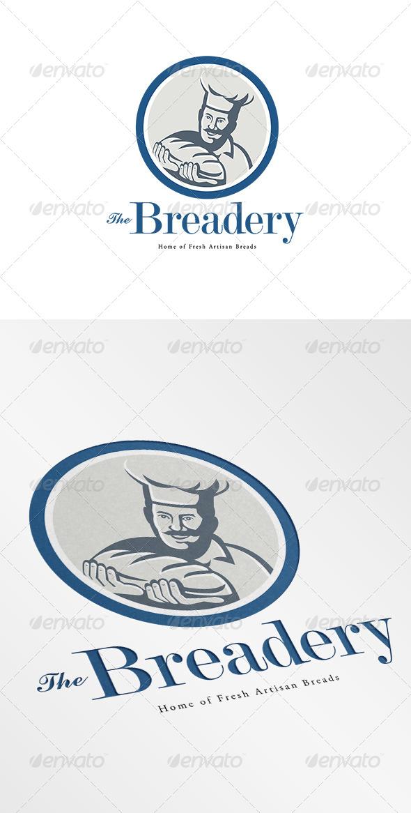 The Breadery Fresh Artisan Breads Logo  - Humans Logo Templates