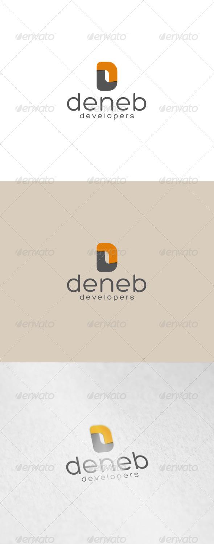 Deneb Logo - Letters Logo Templates