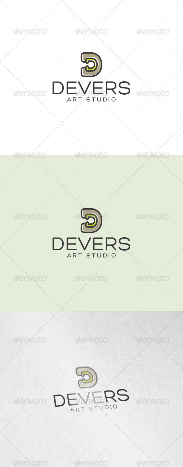 Devers Logo - Letters Logo Templates