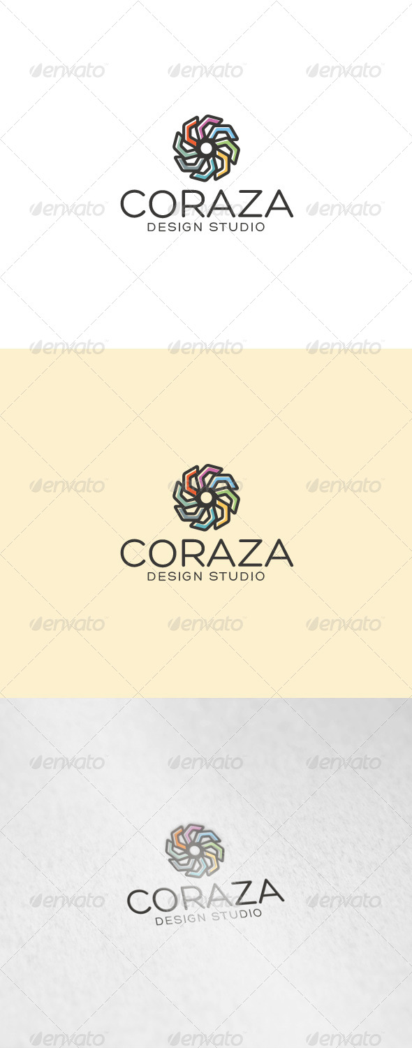 Coraza Logo - Abstract Logo Templates