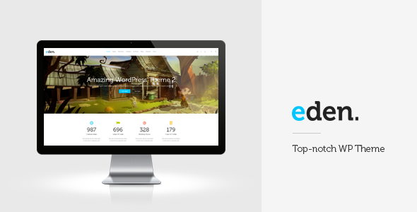 Eden – Retina Multi-Purpose WordPress Theme