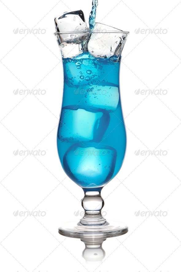 Pouring cocktail - Stock Photo - Images