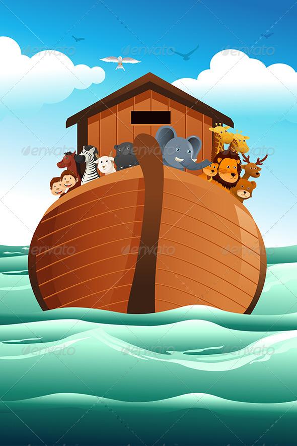 Noahs Ark - Religion Conceptual