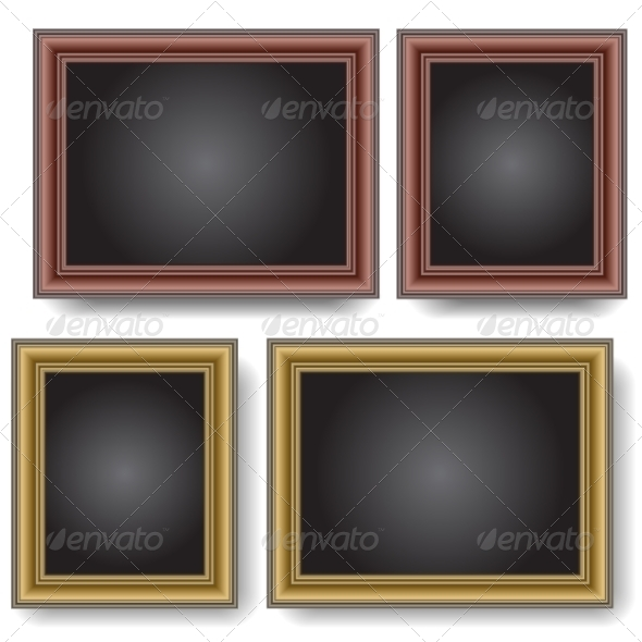 Frames on the Wall - Web Elements Vectors