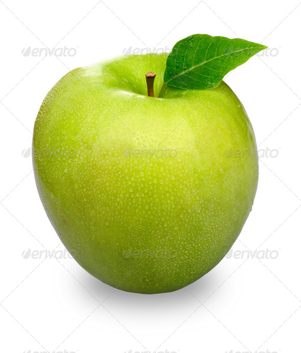 Green Apple - Stock Photo - Images